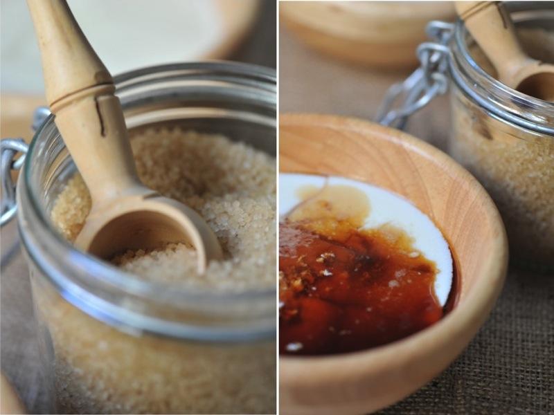 Caillebotte au café et sucre roux