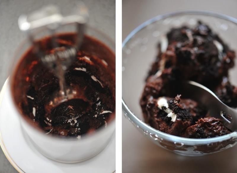 Mousse au chocolat aux oreo's