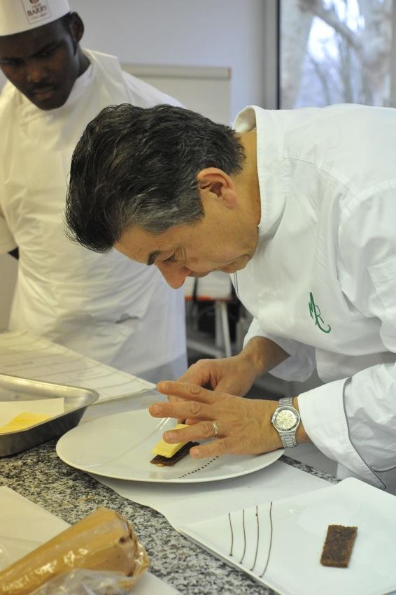 … Aime découvrir les secrets de Grands Chefs… Régis Marcon
