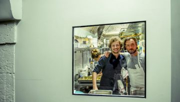 … Aime jouer les entremetteuses – Loic Villemin et Maxime B. Duval au Refettorio, une évidence