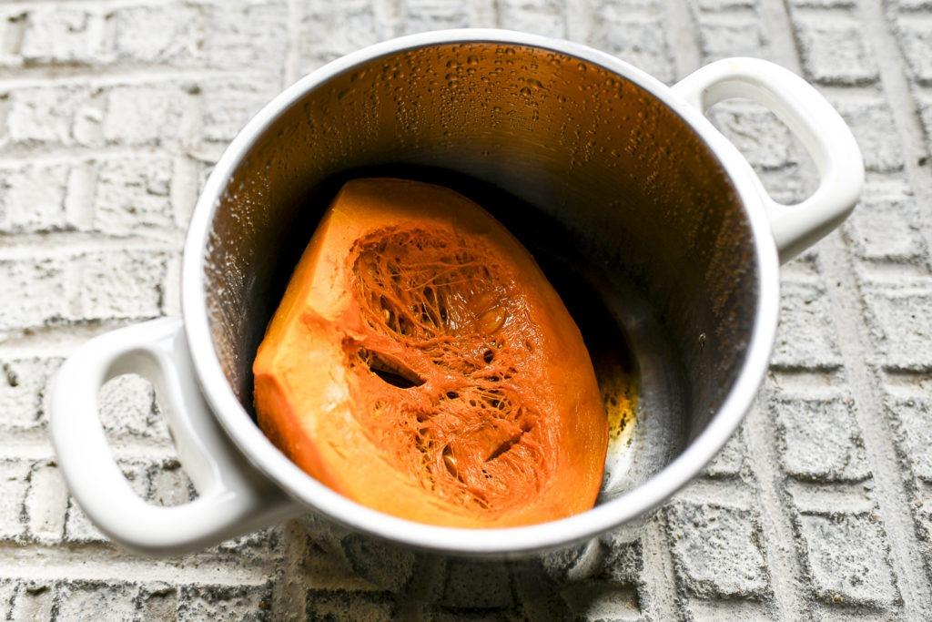 … Aime réduire sa consommation de viande – Parmentier au potimarron pour flexitarien