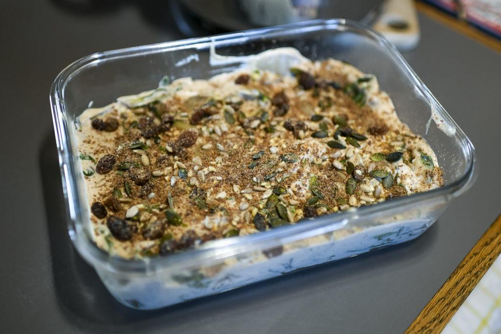 … Aime faire un jeûne et se sentir renaître – 4ème jour de reprise alimentaire et une super bonne recette de gratin de cotes de blettes à l'ail noir et sans gluten